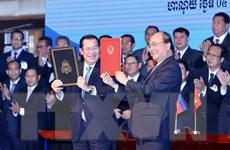 Việt Nam-Campuchia sắp hoàn thành công tác phân giới, cắm mốc