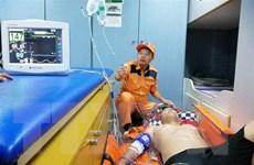 Cấp cứu thành công bệnh nhân bị tai biến do lặn tại Bạch Long Vĩ