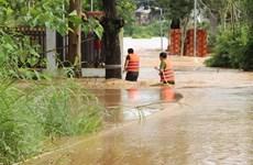 Lũ, triều cường dâng cao gây nhiều thiệt hại tại các địa phương