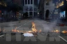 Cảnh sát Hong Kong lên án hành động phá hoại của người biểu tình