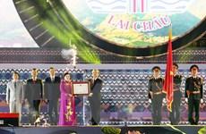 Lai Châu kỷ niệm 110 năm thành lập tỉnh và 70 năm lập Đảng bộ tỉnh