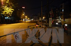 Phân luồng giao thông phục vụ thi công ga ngầm đường sắt đô thị