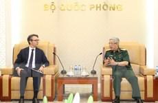 Tiếp tục thúc đẩy quan hệ quốc phòng giữa Việt Nam và EU