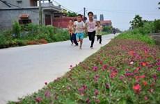 Công nhận thành phố Phúc Yên hoàn thành xây dựng nông thôn mới