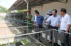 Kiểm tra việc bảo vệ môi trường tại công ty hải sản ở Bà Rịa-Vũng Tàu