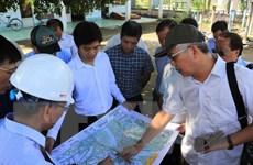 Giám sát việc giải phóng mặt bằng của dự án cầu Mỹ Thuận 2