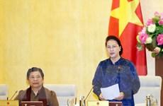 Khai mạc Phiên họp thứ 38 của Ủy ban Thường vụ Quốc hội vào ngày 14/10