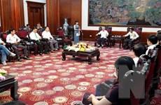 Ban dự án ngày Quốc Tổ Việt Nam toàn cầu làm việc tại tỉnh Phú Thọ