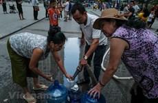 Cung cấp nước sạch miễn phí cho các khu vực ảnh hưởng vì sự cố sông Đà