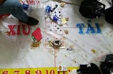 Triệt phá tụ điểm đánh bạc trong khách sạn 4 sao ở Cần Thơ