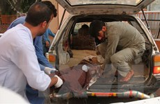 HĐBA lên án mạnh vụ đánh bom đền thờ Hồi giáo tại Afghanistan