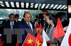 Thủ tướng đến Tokyo, tham dự lễ đăng quang của Nhật hoàng Naruhito