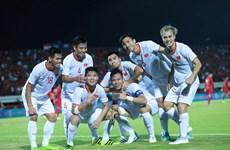 Đội tuyển Việt Nam tăng 2 bậc trên Bảng xếp hạng FIFA tháng 10