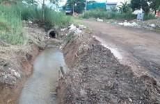 Bình Phước: 'Xóm nước nổi' giữa lòng thành phố Đồng Xoài đã khô ráo