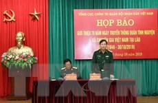 Kỷ niệm 70 năm Ngày truyền thống quân tình nguyện Việt Nam tại Lào