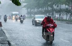 Không khí lạnh sẽ gây mưa lớn cục bộ tại Bắc và Trung Bộ