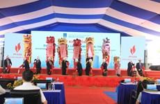 Khởi công xây dựng kho chứa 1 triệu tấn LNG Thị Vải ở Bà Rịa-Vũng Tàu