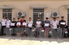 Bình Dương: Tạm giữ nhóm thiếu niên ném gạch đá vào nhà dân