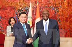 Tăng cường quan hệ hợp tác giữa Việt Nam và Cote d'Ivoire