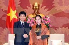 Chủ tịch Quốc hội tiếp đoàn đại biểu tỉnh Gunma của Nhật Bản