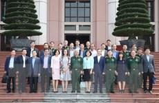 Việt Nam tiếp tục mở rộng hợp tác quốc phòng với các nước