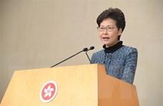 Lãnh đạo Hong Kong lên án vụ tấn công bằng dao nhằm vào nhà lập pháp