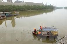 Khắc phục sự cố tràn dầu tại Công ty Ximăng Chinfon Hải Phòng