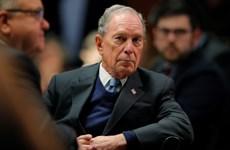 Bầu cử Mỹ 2020: Tỷ phú Bloomberg giành được tỷ lệ ủng hộ khiêm tốn