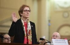 Cựu đại sứ Mỹ tại Ukraine điều trần luận tội Tổng thống Mỹ