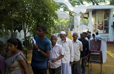 [Mega Story] Bầu cử tổng thống Sri Lanka: Lá phiếu của hy vọng