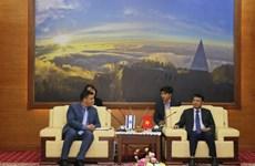 Lào Cai tạo điều kiện thuận lợi cho doanh nghiệp Israel đến đầu tư