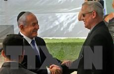 Thủ tướng Israel Benjamin Netanyahu gặp lãnh đạo đảng Xanh-Trắng