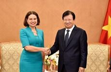 Việt Nam và Australia hướng tới kim ngạch thương mại 10 tỷ USD