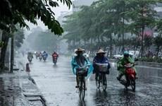 Bắc Bộ trời rét về đêm và sáng, Trung Bộ có nơi mưa to đến rất to