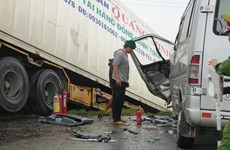 Vụ xe chở sư thầy gặp tai nạn ở Quảng Ngãi: Thêm một nạn nhân tử vong