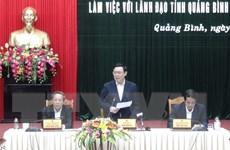 Huy động nguồn lực để phát triển các vùng khó khăn ở Quảng Bình