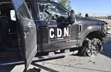 Đụng độ giữa cảnh sát và tội phạm ma túy ở Mexico làm 21 người chết