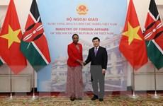 Đưa quan hệ hợp tác Việt Nam-Kenya đi vào chiều sâu và hiệu quả