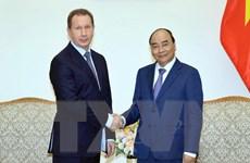 Thủ tướng Nguyễn Xuân Phúc tiếp Giám đốc Cơ quan Vệ binh quốc gia Nga