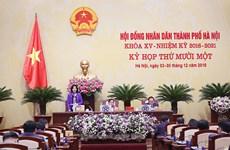 HĐND thành phố Hà Nội quyết nghị nhiều nội dung quan trọng