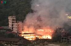 Hai nhà nghỉ homestay ở hồ Ba Bể cùng nhiều tài sản bị lửa thiêu rụi