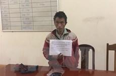 Bắt giữ 2 đối tượng mua bán, vận chuyển ma túy từ Lào về Việt Nam