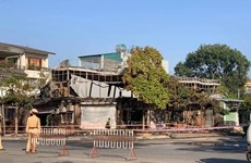 Đã xác định danh tính 4 nạn nhân trong vụ cháy quán ăn ở Vĩnh Phúc