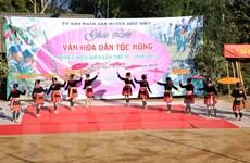 Tưng bừng Ngày hội giao lưu văn hóa dân tộc Mông tại Điện Biên