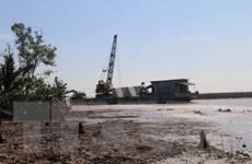 Tiền Giang: Sạt lở đe dọa sản xuất tại các huyện đầu nguồn sông Tiền