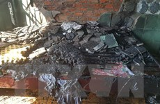 Bình Phước: Cháy rụi phòng nghỉ ngay sau khi khách trọ bỏ đi