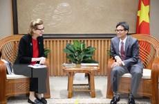 Phó Thủ tướng Vũ Đức Đam tiếp Đại diện thường trú UNDP tại Việt Nam