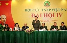 Phiên làm việc thứ nhất Đại hội Hội Cựu thanh niên xung phong Việt Nam