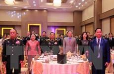 Long trọng kỷ niệm 75 năm ngày thành lập QĐND Việt Nam tại Lào