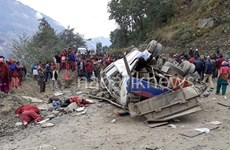 Tai nạn xe buýt thảm khốc ở Nepal, ít nhất 14 người thiệt mạng